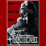 Rainbow Six Art Print
