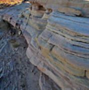 Rainbow Wave Of Sandstone In Valley Of Fire Art Print