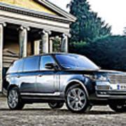Range Rover Art Print