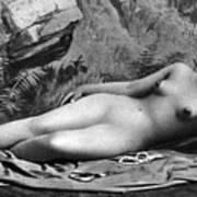 Reclining Nude, C1885 Art Print