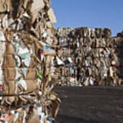 Recycling Facility Art Print by Paul Edmondson