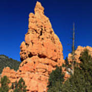Red Canyon State Park Art Print