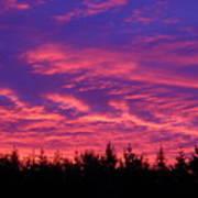 Red Clouds At Dawn Art Print