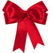 Red Ribbon Art Print