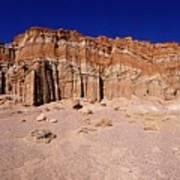 Red Rock Canyon Mojave Desert Art Print