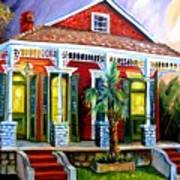 Red Shotgun House Art Print