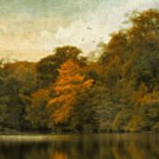 Reflecting October Art Print