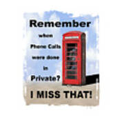 Remember When . . . Art Print