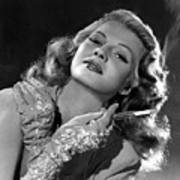 Rita Hayworth, Columbia Pictures, 1940s Art Print by Everett