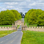 Road To Burghley House Art Print