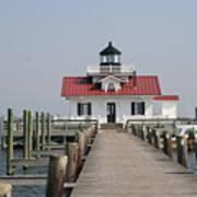 Roanoke Marshes Lighthouse Art Print