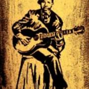 Robert Johnson Art Print by Jeff DOttavio