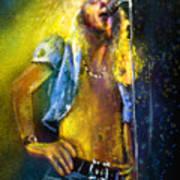 Robert Plant 01 Art Print