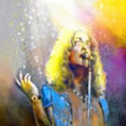 Robert Plant 02 Art Print