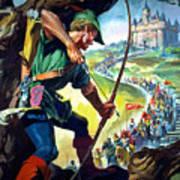 Robin Hood Art Print by James Edwin McConnell