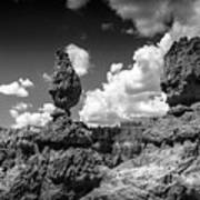 Rock Formations Of Bryce Canyon Art Print