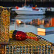 Rockport Ma Lobster Traps Art Print