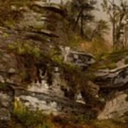 Rocky Cliff Art Print