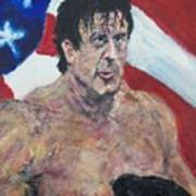 Rocky Art Print