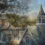 Rooftops Of Old Edwards Art Print