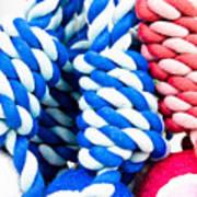 Rope Toys Art Print