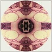 Round Art Print