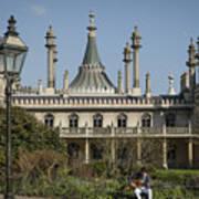 Royal Pavilion And Gardens In Brighton Art Print
