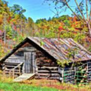 Rural Barn Art Print