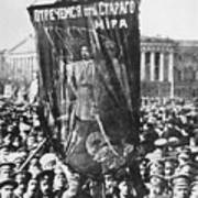 Russia: Revolution Of 1917 Art Print