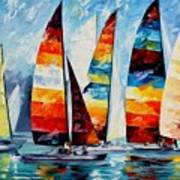 Sail Regatta Art Print
