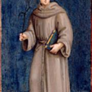 Saint Anthony Of Padua Art Print