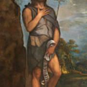 Saint John The Baptist Art Print