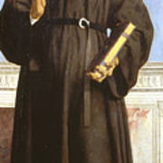 Saint Nicholas Of Tolentino Art Print