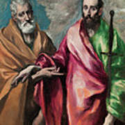 Saint Peter And Saint Paul Art Print