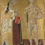 Saints Fabian And Sebastian Art Print