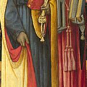 Saints Peter And Jerome Art Print