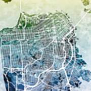 San Francisco City Street Map 1 Poster on maryland map poster, florida map poster, united states map poster, california poster, chicago map poster, ohio map poster, toronto map poster, paris map poster, germany map poster, los angeles poster, brooklyn map poster, venice map poster, indianapolis map poster, mississippi map poster, hong kong map poster, austin map poster, new england map poster, seattle map poster, columbus map poster, north carolina map poster,