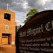 San Miguel Mission Church Art Print