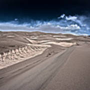 Sand Dunes Of Colorado Art Print