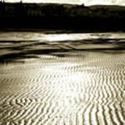 Sand Patterns. Art Print
