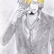 Sanji Art Print