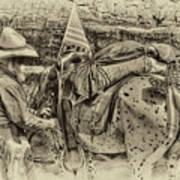 Santa Fe Cowboy Art Print