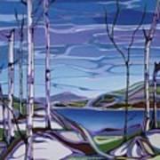 Sardi Lake Art Print