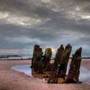 Scottish Coast Art Print
