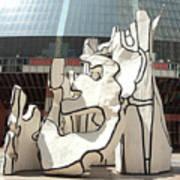 Sculpture In Chicago Art Print