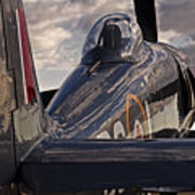 Sea Fury Reflections Art Print