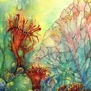 Seaflowers II Art Print