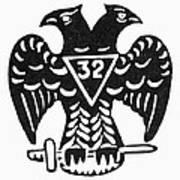 Seal: Freemasonry Art Print