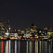 Seattle Skyline Print by Michael Gass
