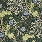 Seaweed Pattern Art Print